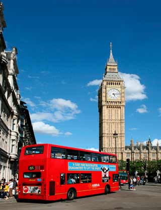 Big Ben and London Double Decker Buss